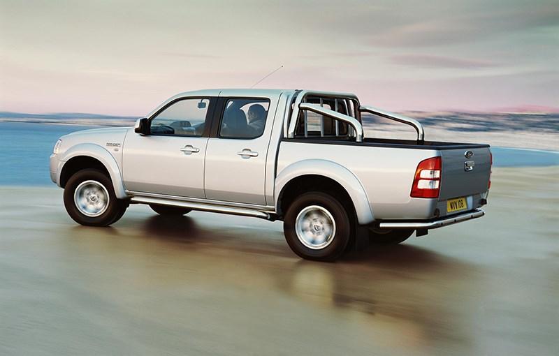 Ford Ranger 2006 фото в динамике 2