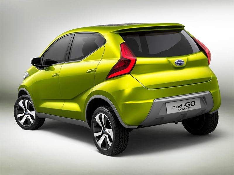 Datsun redi-Go Concept 2014 вид сзади