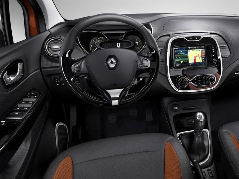 Renault Captur 2013 водительское место