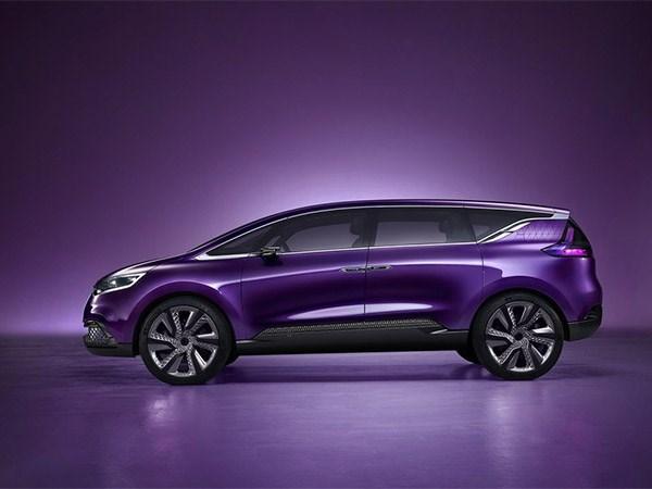 Renault Initiale Paris concept 2013 вид сбоку