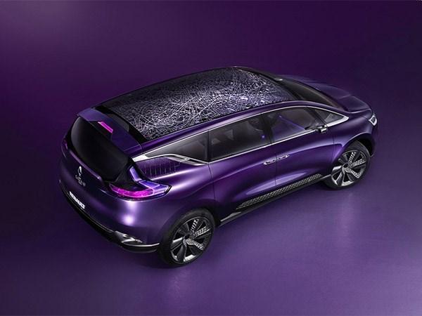 Renault Initiale Paris concept 2013 вид сверху