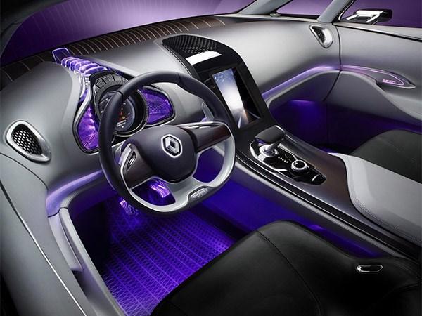 Renault Initiale Paris concept 2013 водительское место