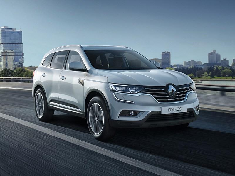 Renault начала прием заказов на новый Koleos в Россию