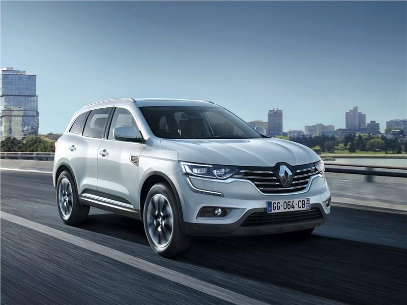Новый Renault Koleos - Renault Koleos 2017 Гроза авторитетов