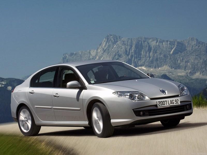 Французское трио (Peugeot 406, Renault Laguna, Renault Laguna II, Citroen Xantia, Citroen C5) Laguna поколение III