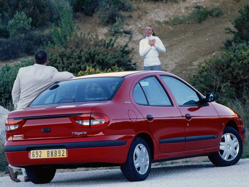 Фото рено меган 1999
