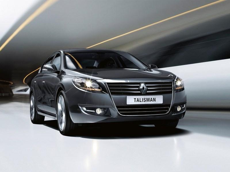 Renault Talisman 2013 вид спереди