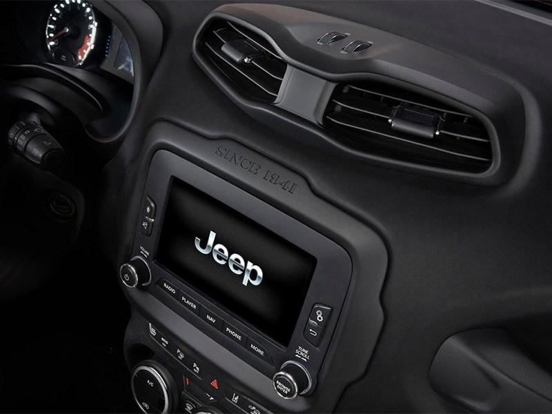Jeep Renegade 2014 центральная консоль