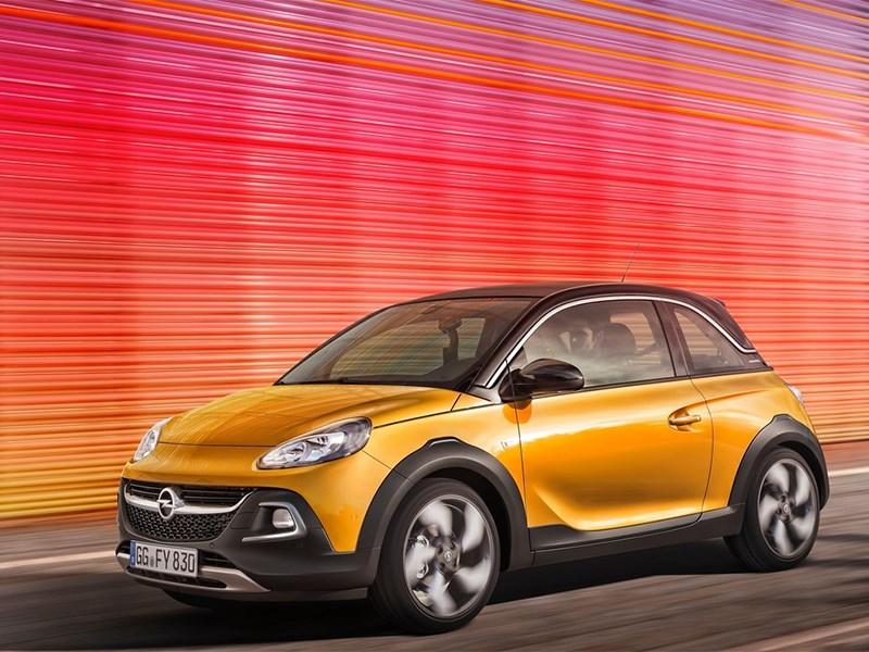 Opel Adam Rocks 2014 вид спереди