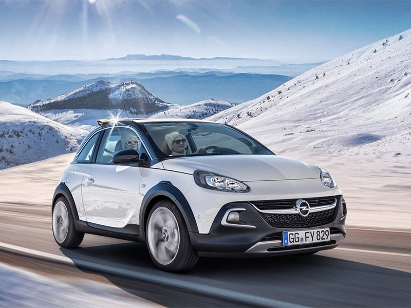 Opel Adam Rocks 2014 вид спереди фото 2