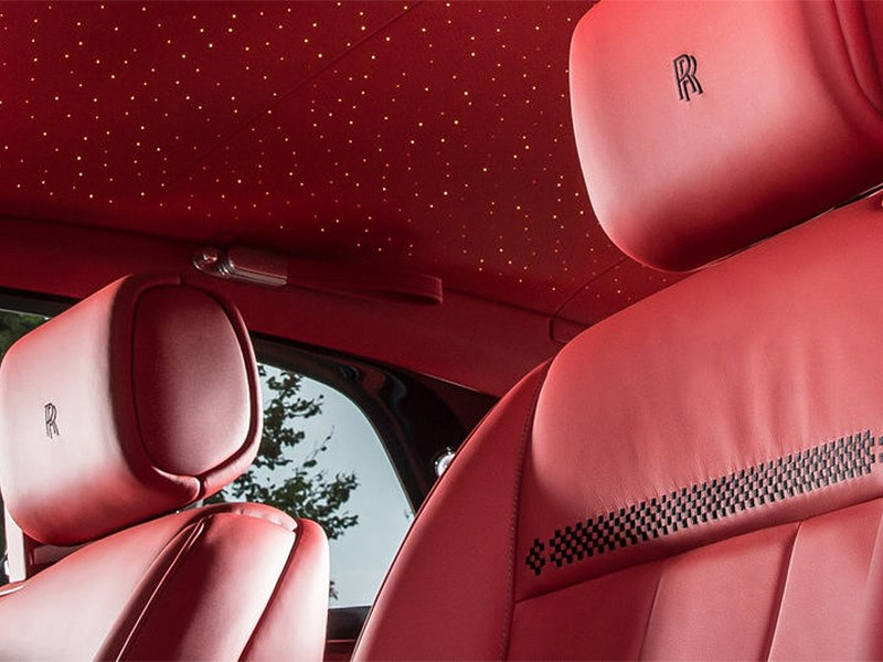 Rolls-Royce Bespoke Chicane Coupe 2014 обивка красной кожей