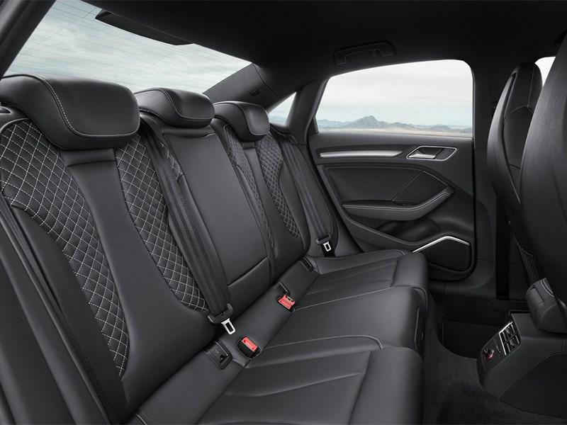 Audi S3 sedan 2013 задний диван