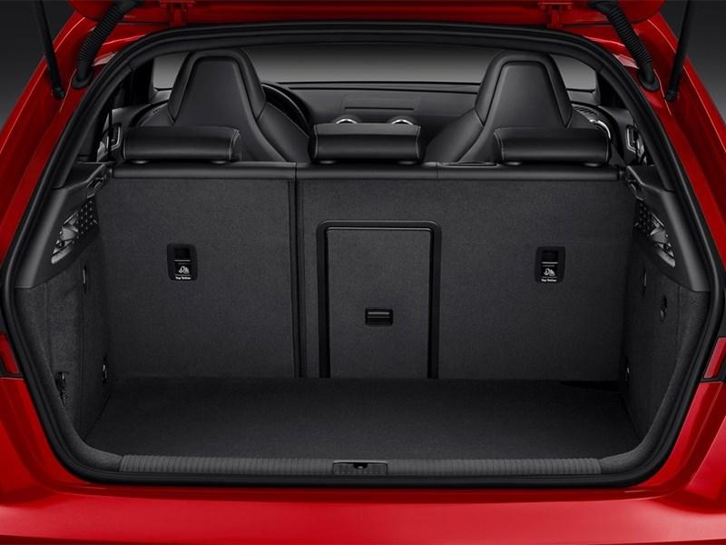 Audi S3 sportback 2013 багажное отделение