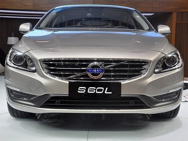 Volvo S60 L 2014 вид спереди 2