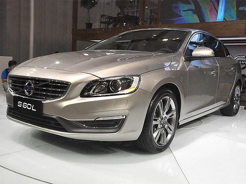 Новый Volvo S60 L - Volvo S60 L 2014 вид спереди 3/4 2
