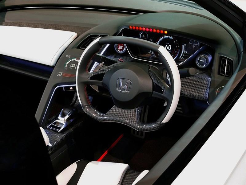 Honda S660 концепт 2014 водительское место