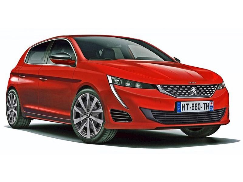 Новое поколение Peugeot 308 появится в 2020 году