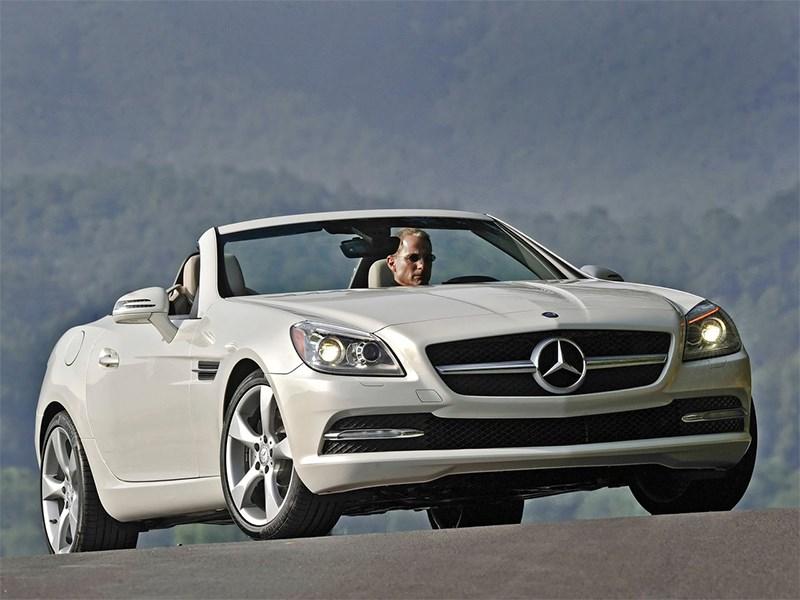 Летом лучше без крыши (Обзор российского рынка открытых автомобилей - 2007) SLK-Class