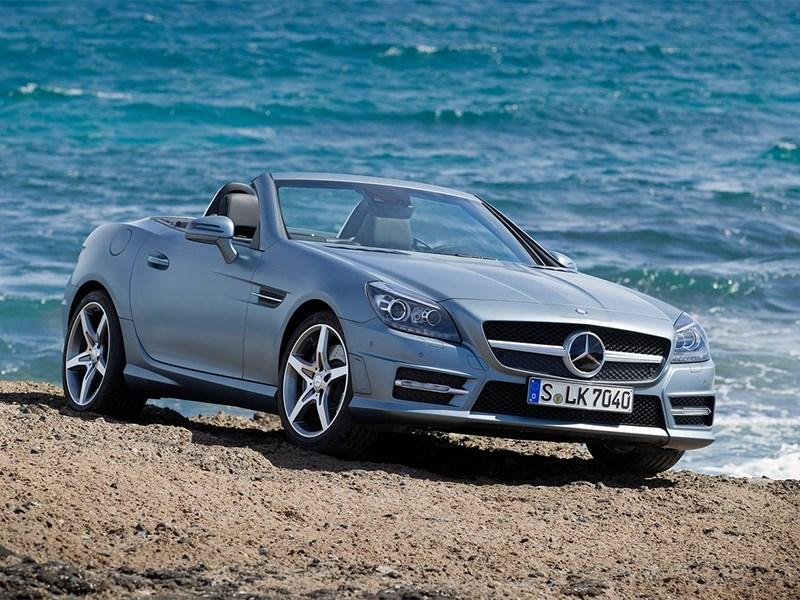 Mercedes-Benz SLK-Klasse 2012 вид спереди
