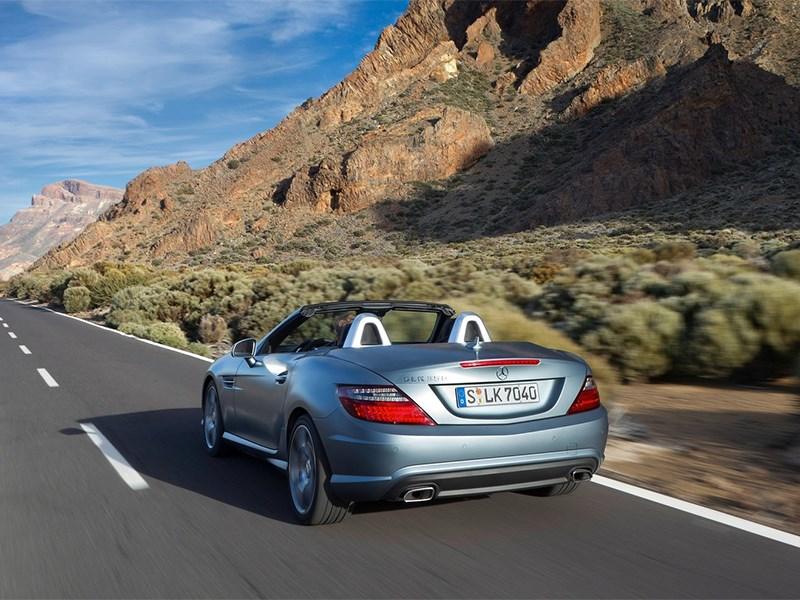 Mercedes-Benz SLK-Klasse 2012 вид сзади