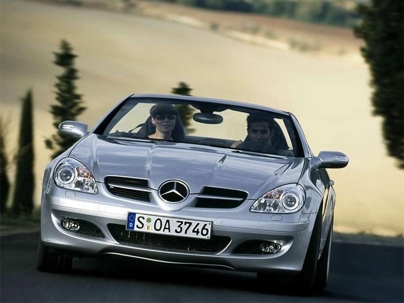 Mercedes-Benz SLK-Klasse 2005 вид спереди