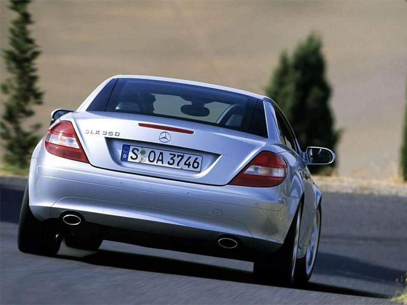 Mercedes-Benz SLK-Klasse 2005 вид сзади