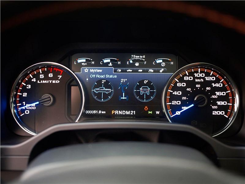 Ford F-150 2016 приборная панель