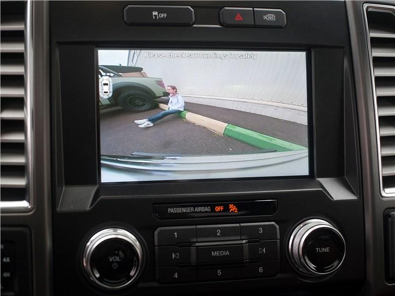 Ford F-150 2016 монитор