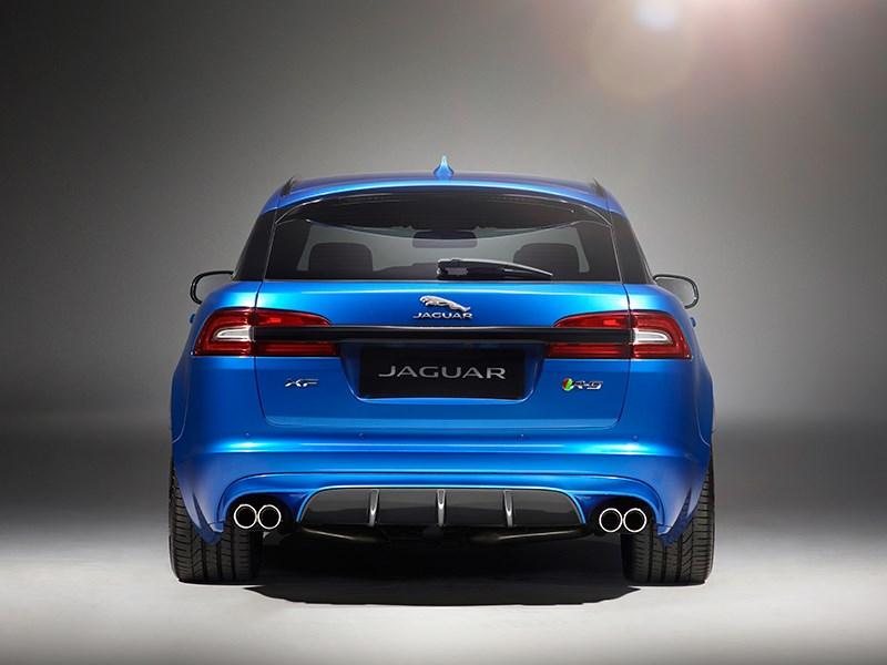Jaguar XFR-S Sportbrake 2014 вид сзади фото 3