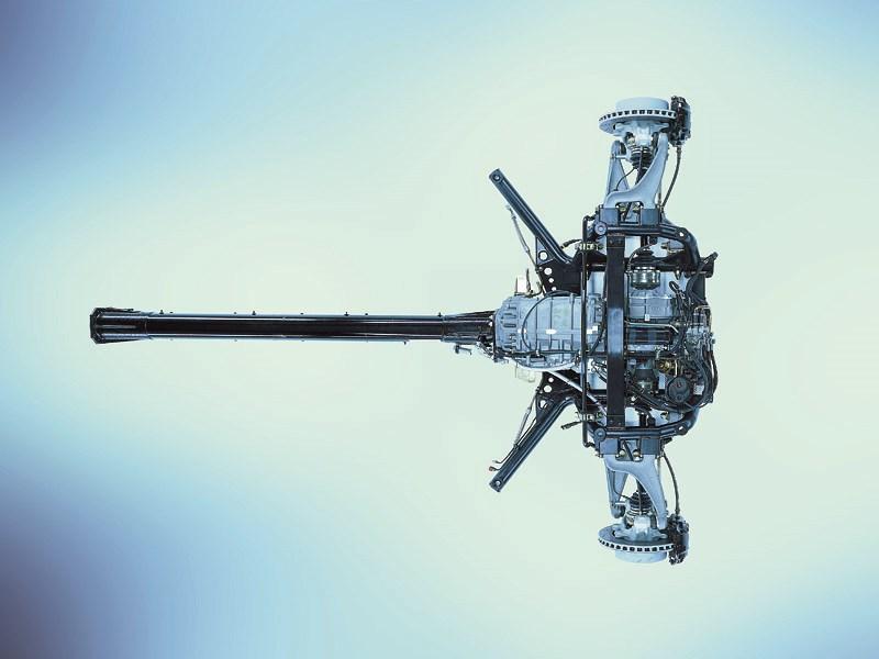 Подрамник передней подвески и агрегатовMaserati Spyder