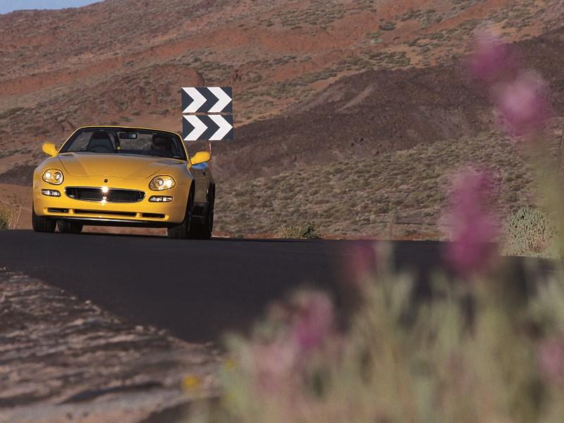 Maserati Spyder обладает отменной управляемостью