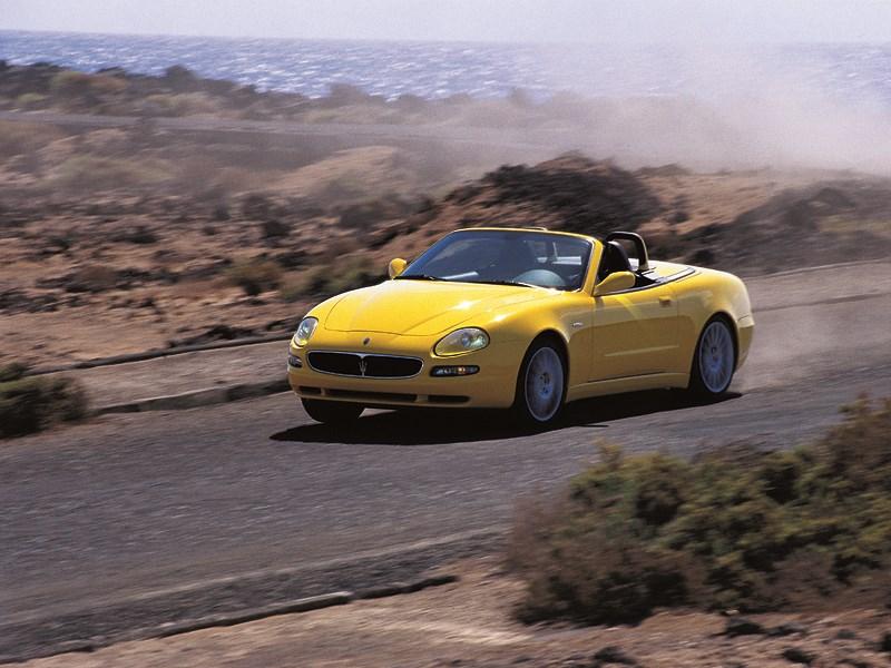 Maserati Spyder создан для азартного вождения