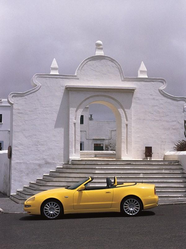 Maserati Spyder красив в любом окружении