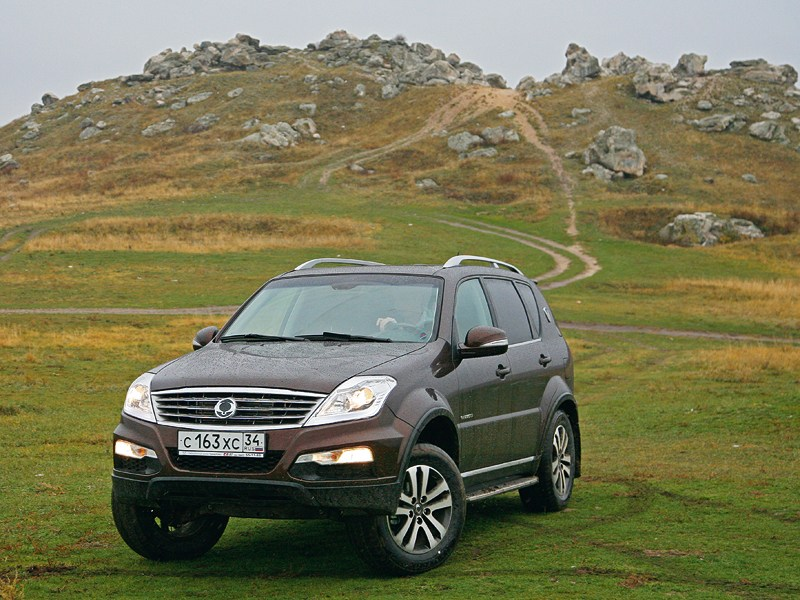 SsangYong Actyon Sports - ssangyong rexton