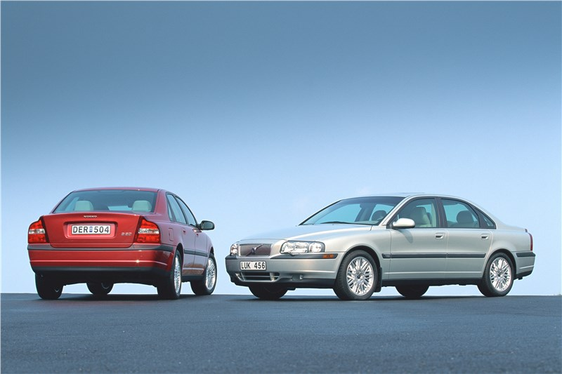 Volvo S80 2000 спереди и сзади фото 3