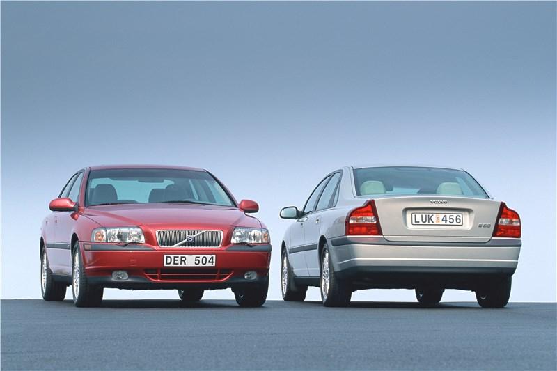 Volvo S80 2000 спереди и сзади фото 1