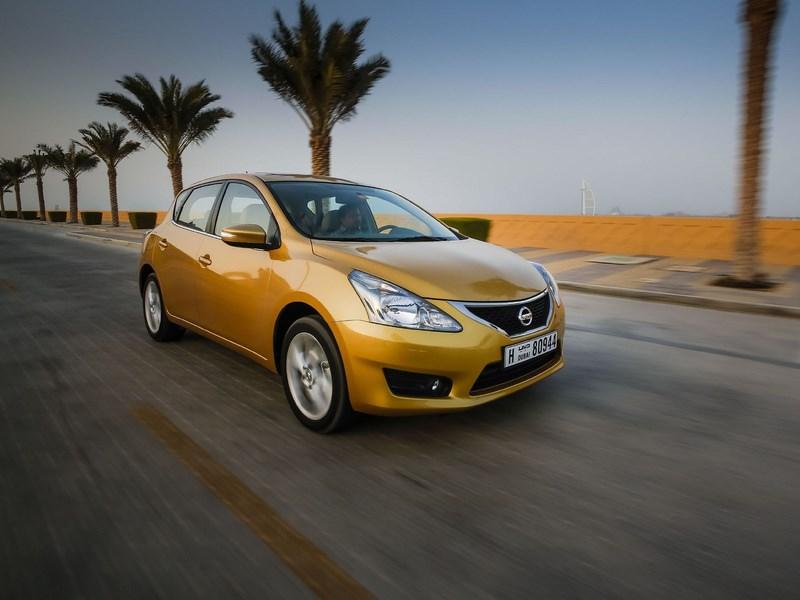 Производство Nissan Tiida в России временно приостановлено