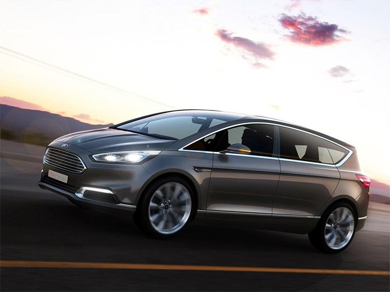 Ford S-MAX концепт 2013 вид сбоку