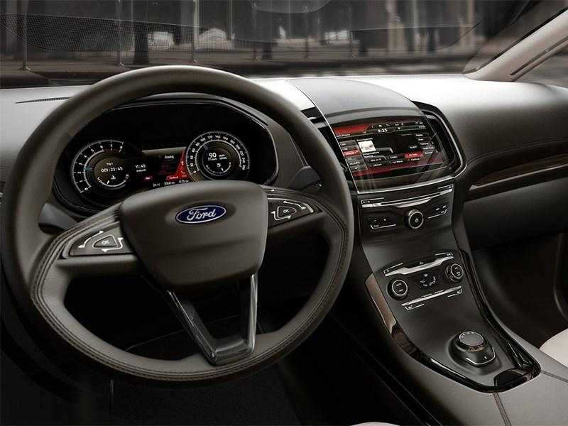 Ford S-MAX концепт 2013 водительское место
