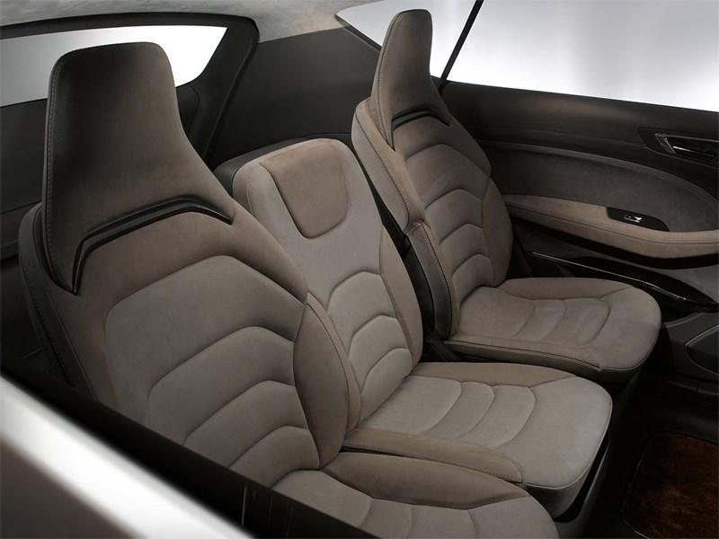 Ford S-MAX концепт 2013 задние кресла