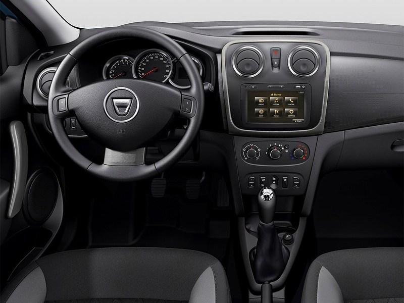 Dacia Sandero Stepway 2013 водительское место