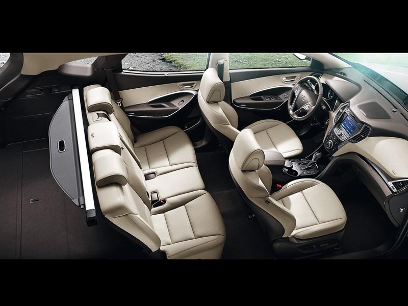 Hyundai Santa Fe 2012 салон