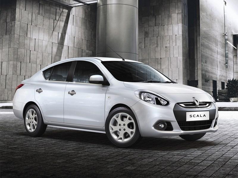 Renault Scala 2013 вид сбоку