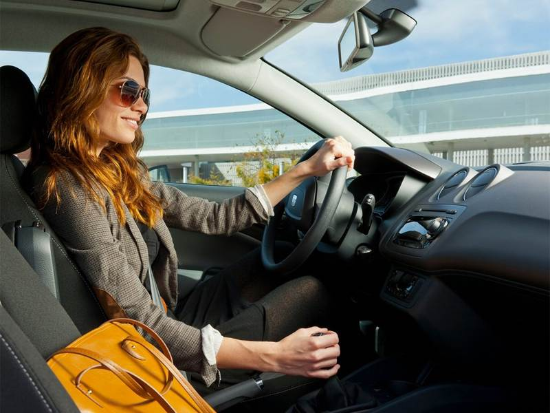 Seat Ibiza 2013 водительское место