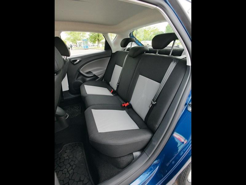 Seat Ibiza 2013 задний диван