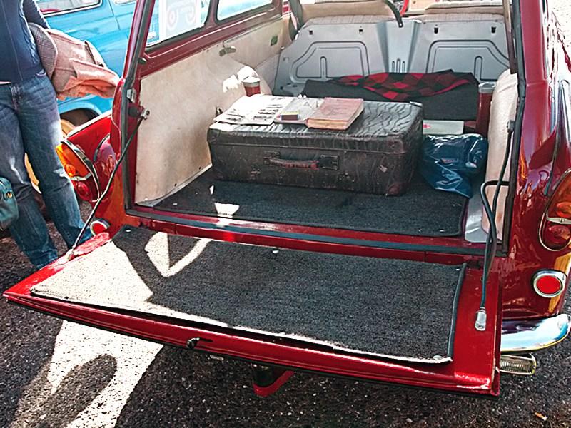 Skoda Octavia 1961 багажник