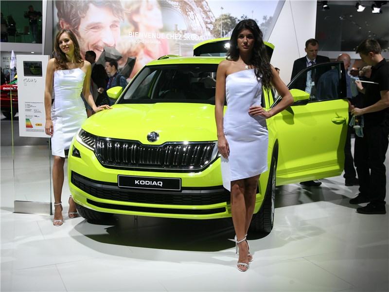 Интрижка на стороне: модельная внешность Mazda CX-5 ставит под сомнение семейные ценности Skoda Kodiaq Kodiaq