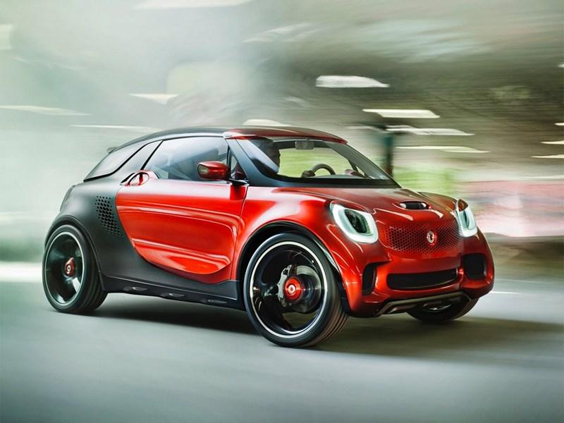 Smart покажет в Париже новое спортивное купе
