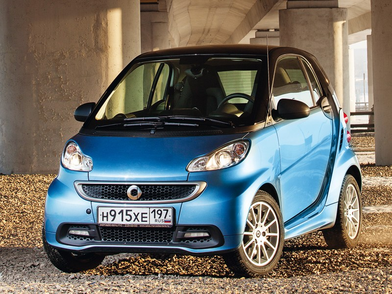 Smart Fortwo Coupe - smart fortwo 2012 вид спереди