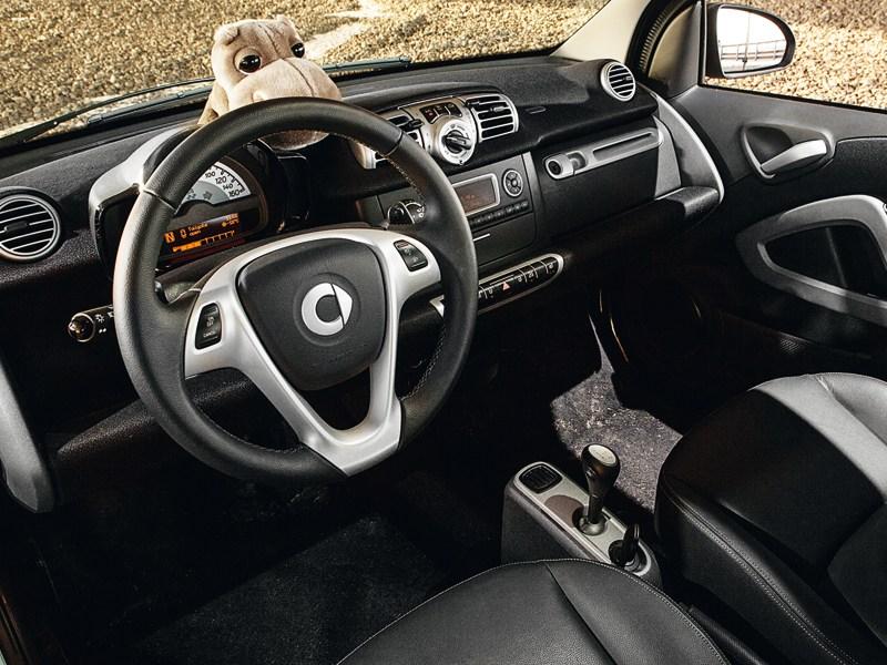 Smart Fortwo 2012 водительское место